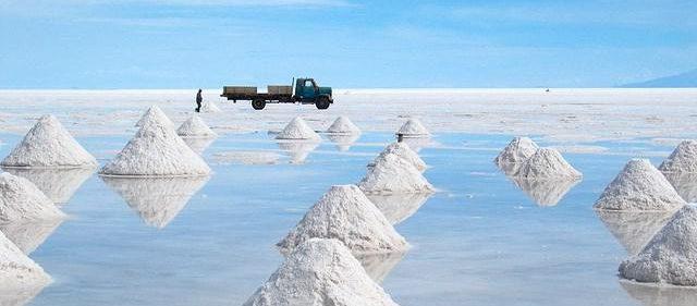 Добыча лития карбоната в Боливии